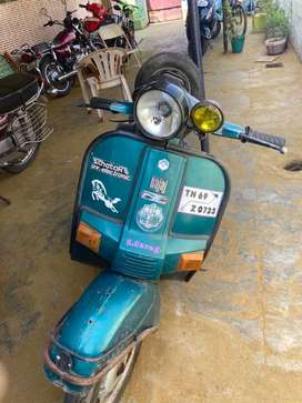 Bajaj Scooter 12v electic good condition with book