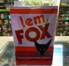 Lem fox kuning ukuran 2,5kg
