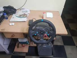 Logitech g29 gaming wheel.one month used