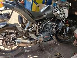 Akrapovic exhaust for KTM