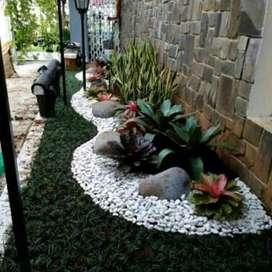 Jual rumput taman _ Trima jasa pembuatan taman & kolam hias