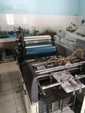 Mesin cetak offset dan pelatihan operator mesin hamada toko Ryobi