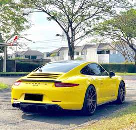 Porsche 911s yellow red exclusive power kit rem ceramic