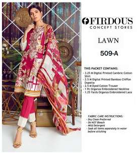 LAWN EMBROIDERED 2019