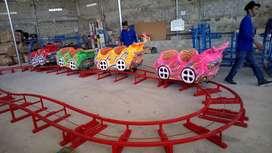 Sirine kereta mini EK odong kereta lantai mini roller coaster wisata