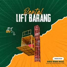 Sewa Lift Barang, Lift Material Kap. 1-4 Ton Mamuju