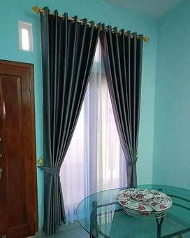 Hordeng gorden gordyn curtains indah murah