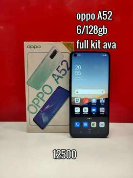 Oppo A52 6/128GB WITH FULL KIT BRAND NEW CONDITION MOBILE