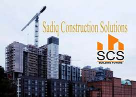 Construction of all type industrial nd residential plots