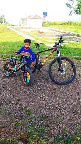 "Sepeda anak Pacifik Mazara 16"""