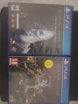 Shadow of mordor and shadow of war