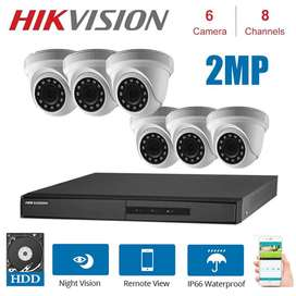 Hikvision, Hilook, TVT, Pollo & Duhua Turbo HD Cameras