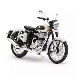 Royal Enfield bike, new silencer &  Royal Enfield helmate