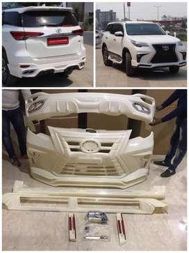 New Fortuner & Innova crysta lexus style bodykit