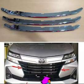Cover grill all new avanza 3 cover lis chrome