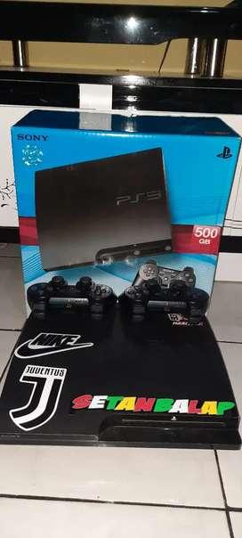 Dijual PS3 500GB lengkap