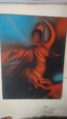 Hand painted oil painting morden art master piece
