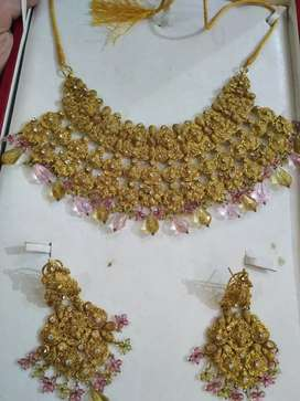 Bridal and party wear jewelry