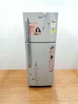 Electrolux double door three star rating 260 liter refrigerator