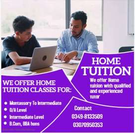 Home Tutor Available in Rwp & ISB