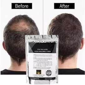 Penebal rambut Hair fiber HM botol & refill penebal rambut anti botak