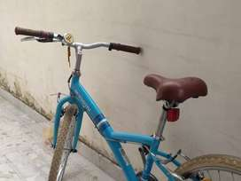 Mountain bike with extreme grip tyres.