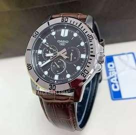 Jam tangan pria Casio chronos original
