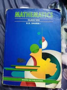 R d sharma class 8