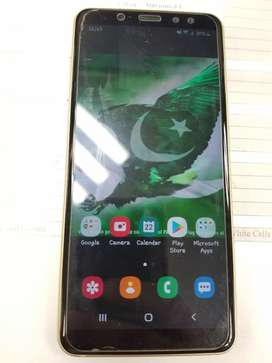 Galaxy A8 2018 Gold just like brand new