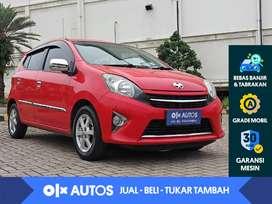 [OLX Autos] Toyota Agya 1.0 G A/T 2015 Merah