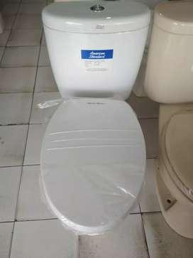Kloset duduk American standart slim smart washer bagus kilap.