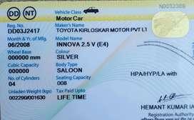 Toyota innova diesele