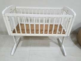 Mothercare baby crib and walker