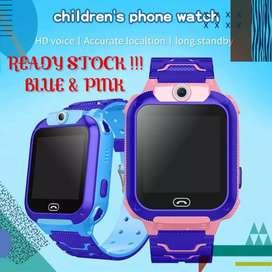 Smart watch,jam tangan pintar untuk anak anak,watch phone kids Q12