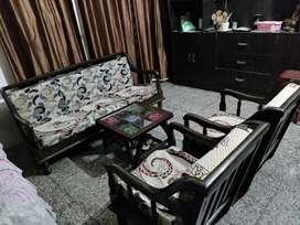 5 Person Sofa Set | Premium Wood | Antique look | Comfortable