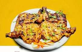 Al faham masala  Arabic style. Tikka masala kabab masala