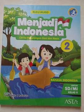 Buku Pelajaran Bahasa Indonesia : Menjadi Indonesia 2 (bekas)