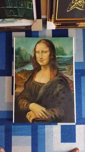 Lukisan Repro Mona Lisa