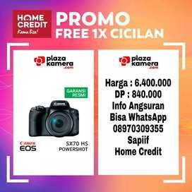 Canon PowerShot SX70 HS Promo Free 1x Cicilan