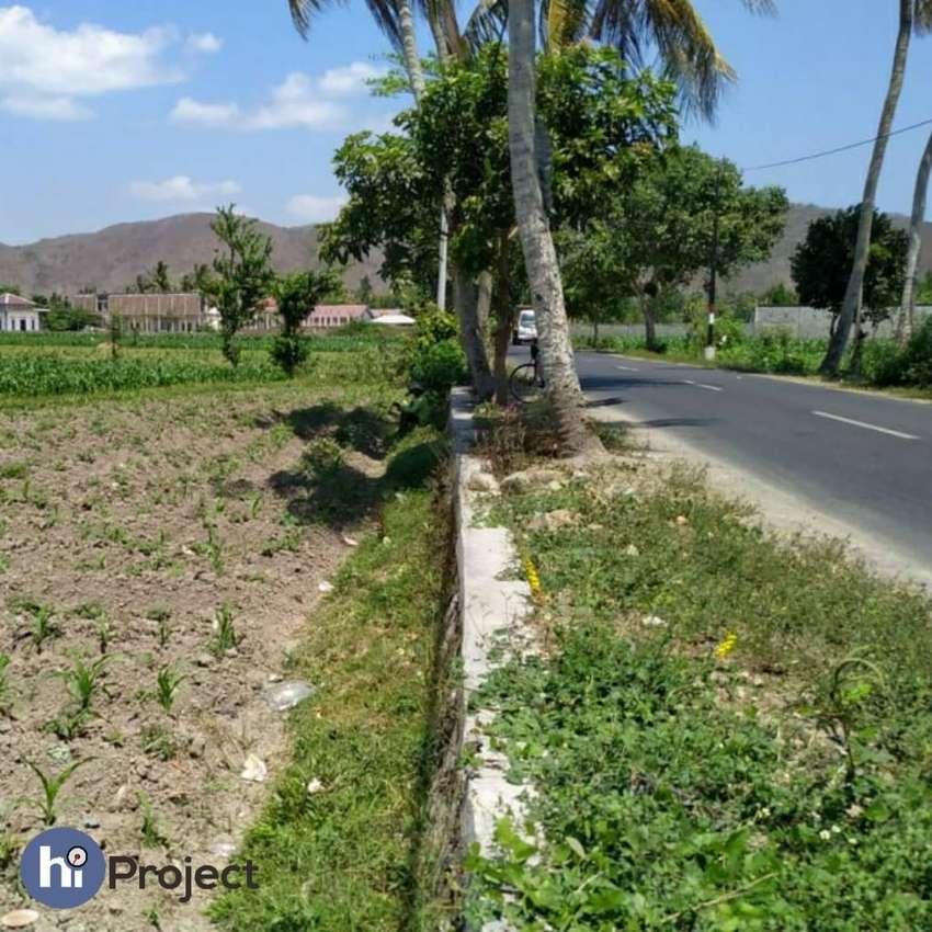 15 are Tanah pinggir jalan di Kediri Lombok barat T345 0