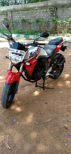 Fz s V2 single owner no insurance in very good condition