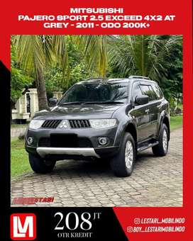 Pajero Sport 2.5 Exceed 4x2 AT 2011