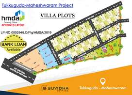 HMDA APPROVED VILLA PLOTS AT TUKKUGUDA-MAHESHWARAM