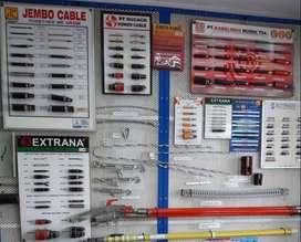 jual kabel listrik tembaga supreme jembo extrana sutrado voxel dan KMI
