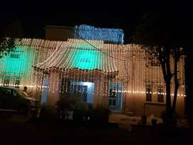 Wedding Lights decor and DJ