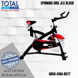 Alat Fitness Sepeda statis Spinning Bike JLS BLACK