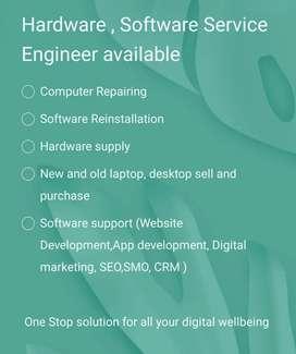 Laptop and Desktop Repairing Service at you Home