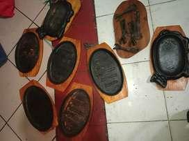 Piring 6 pasang Exs Stik Lok Palmerah