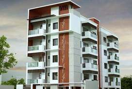 2 BHK Flat + 1 Covered Parking in Boring Patliputra Road