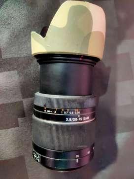 Song camera lenses 2.8/28-75 SAM